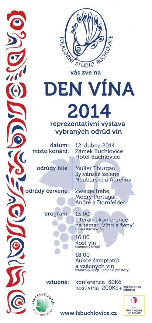 Den vína v Buchlovicích 12.4.2014